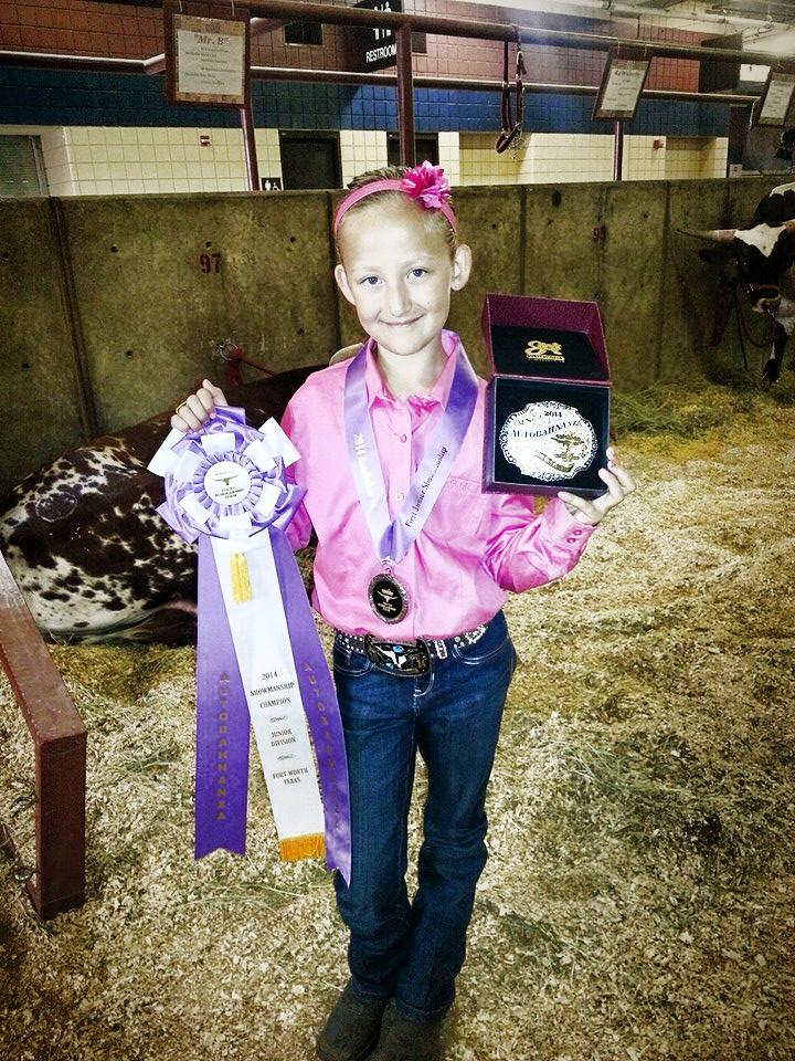 Junior Showmanship Champion