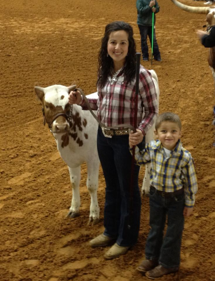 Peewee showmanship with Amy and JP!!